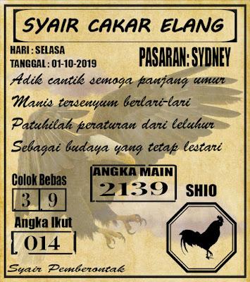 SYAIR SYDNEY 01-10-2019