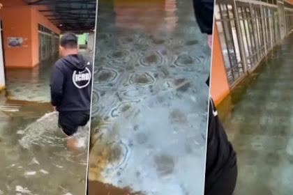 Viral Masjid di Kalsel Diterjang Banjir, tapi Airnya Jernih