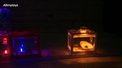 Lego Brick Shape Aquarium Tanks 12