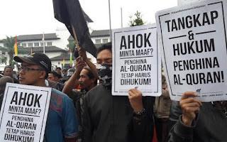 Demo Ahok 4 November Tentang Penistaan Agama