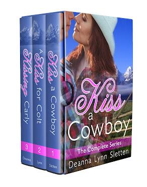 Kiss a Cowboy Boxed Set Books 1-3