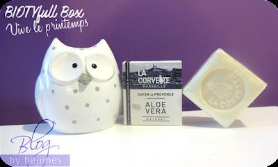 BIOTYfull Box de Mars - savon de provence corvette