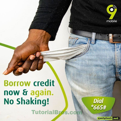 Yes, you can now borrow credit upon credit, so you never run out of credit or data anymore on your 9mobile sim