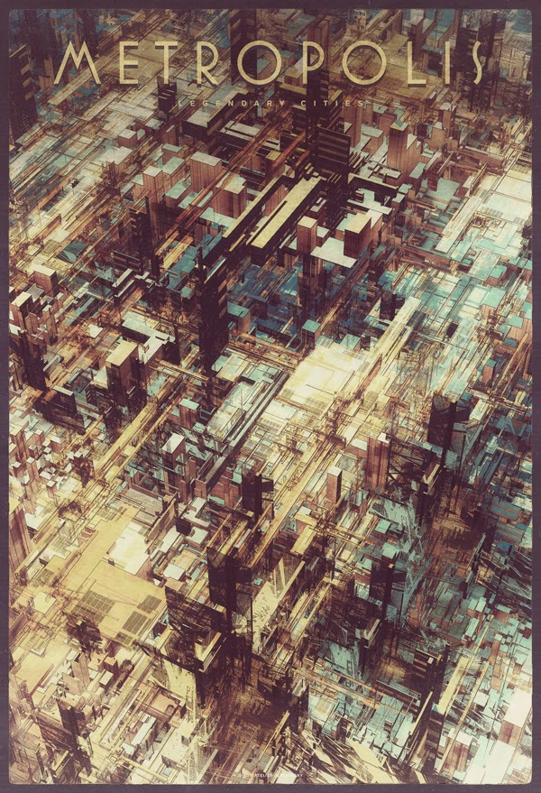 ©Atelier Olschinsky. Legendary Cities. Ilustración | Illustration. Arquitectura | Architecture