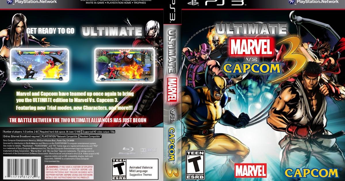 PS3 TORRENTS DOWNLOADS: ULTIMATE MARVEL vs CAPCOM 3 PS3 ...