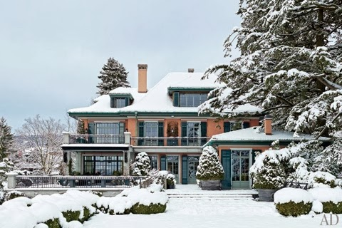 A winter wonderland home