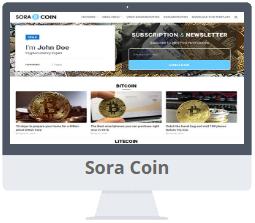 Mẫu Sora Coin Blogger