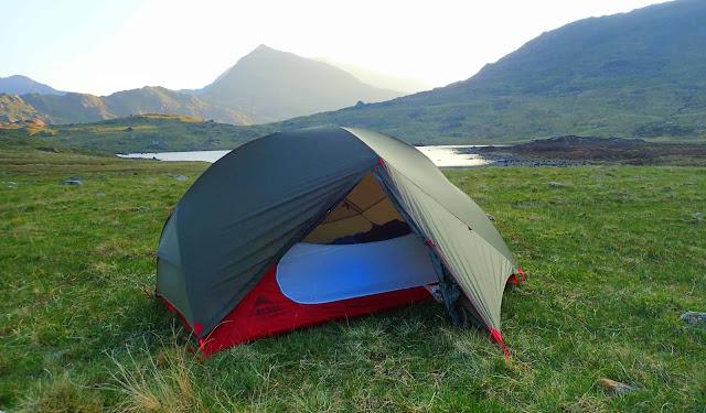 Best wild camping tents reviews MSR Hubba Hubba NX