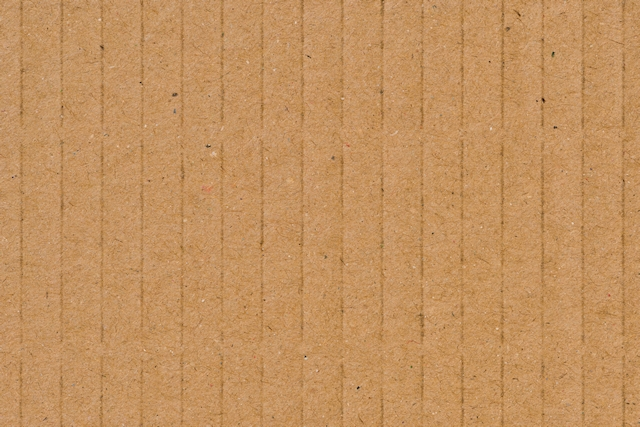 Cardboard texture with vertical lines