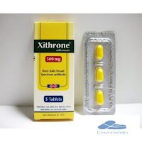 زيثرون لعلاج الامراض الناشئة عن عدوي بكتيرية