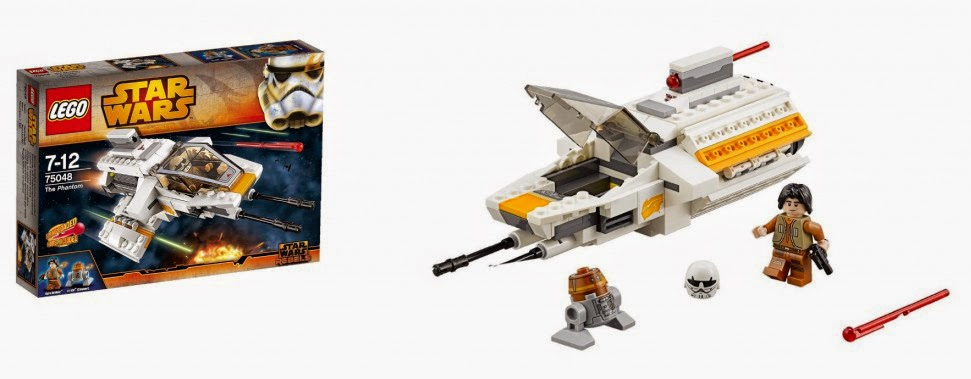 Lego Star Wars: Rebels, Phantom - MojeKlocki24.pl