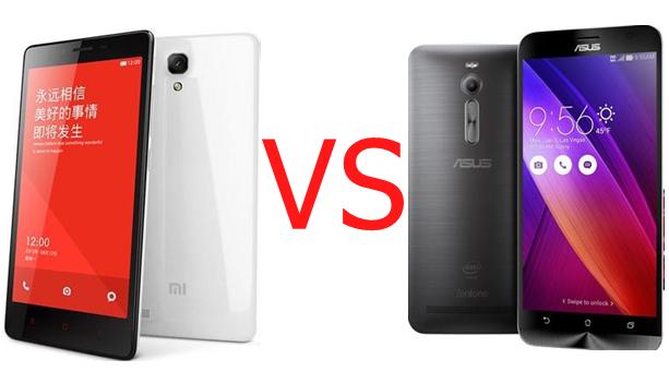Ponsel Murah ZenFone 2 VS Redmi Note 2