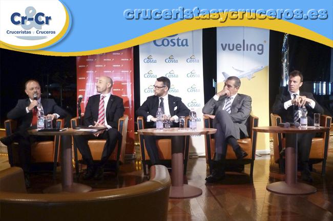 ► Cruceristas y Cruceros estuvo presente en la rueda de prensa ofrecida por Costa Cruceros