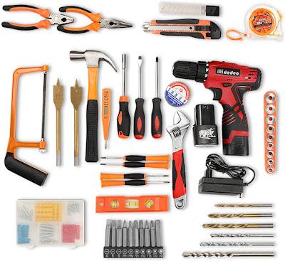 Cordless Hammer Drill Tool Kit