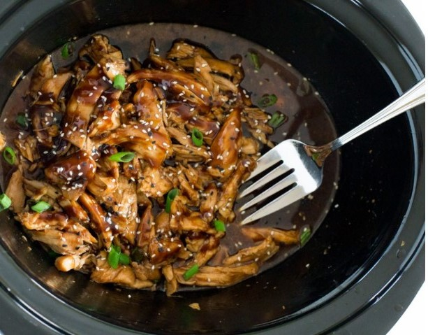 Slow Cookêr Honêy Garlic Chickên #Slowcooker #Dinner