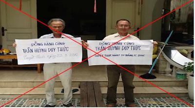 Trần Huỳnh Duy Thức tuyệt thực và bức tâm thư của những nhà trí thức