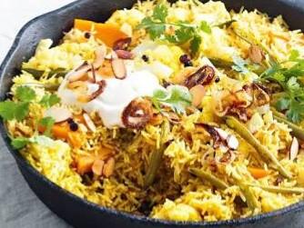 biryani - tandoori chicken