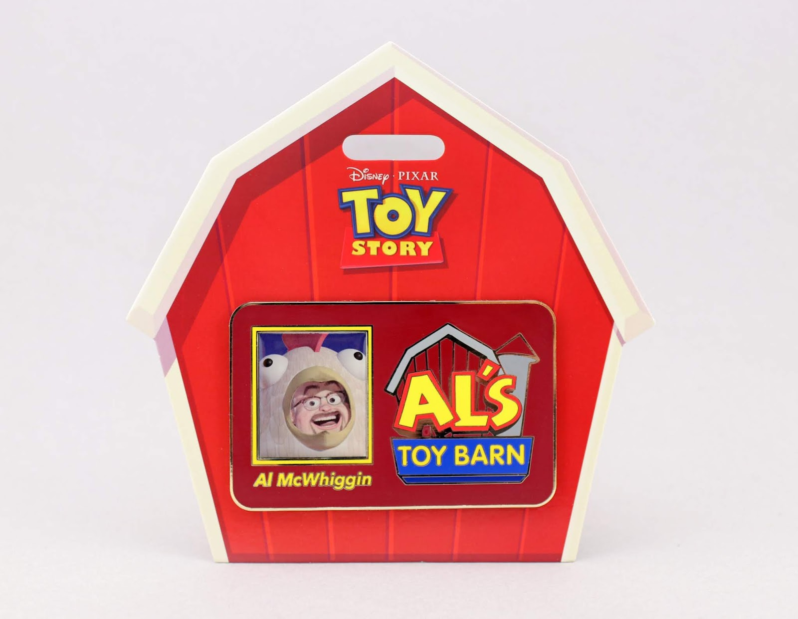 toy story al's toy barn jumbo pin