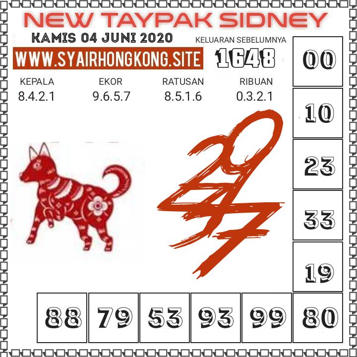 Prediksi Syair Sydney 4 Juni 2020
