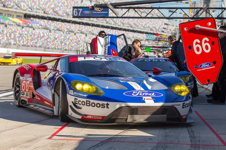 The American Brand Is Competing This Year In Fia World Endurance Championship And In Imsa Weathertech Sportscar Championship With Two Brand New Ford Gt