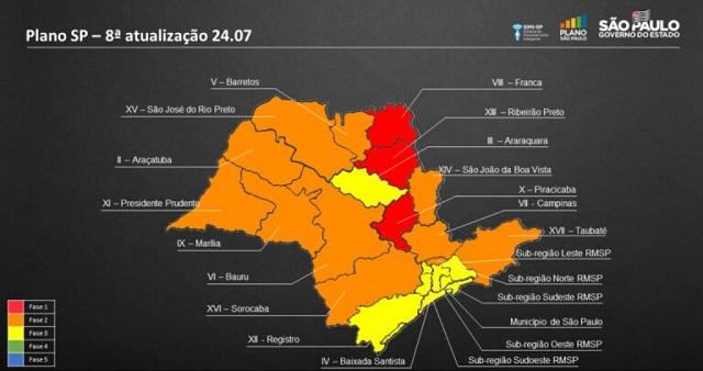 Ministério Público  recomenda volta à fase vermelha dos municípios do Vale do Ribeira