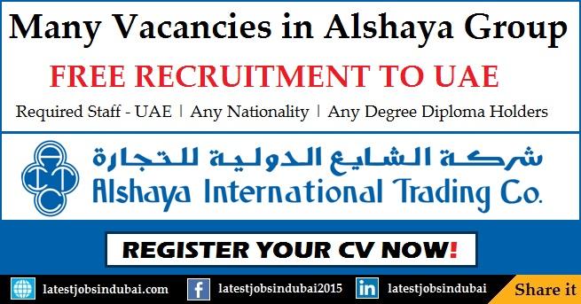 Alshaya Group Careers and Job Vacancies