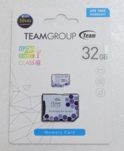 Team microSDHC Card