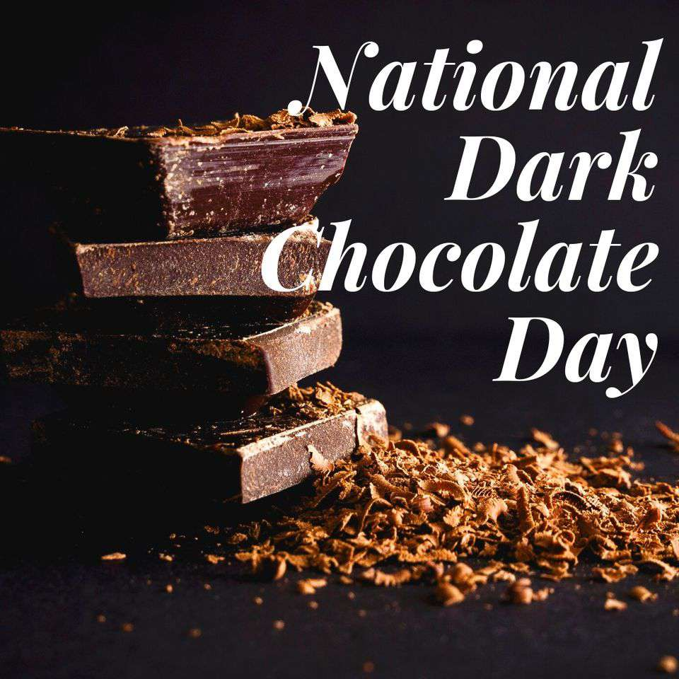 National Dark Chocolate Day Wishes Images download