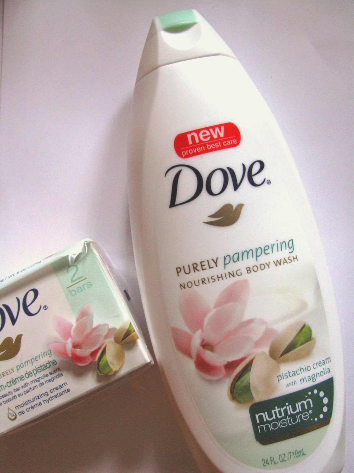 The Beauty Alchemist Dove Purely Pampering Pistachio Cream Body Wash