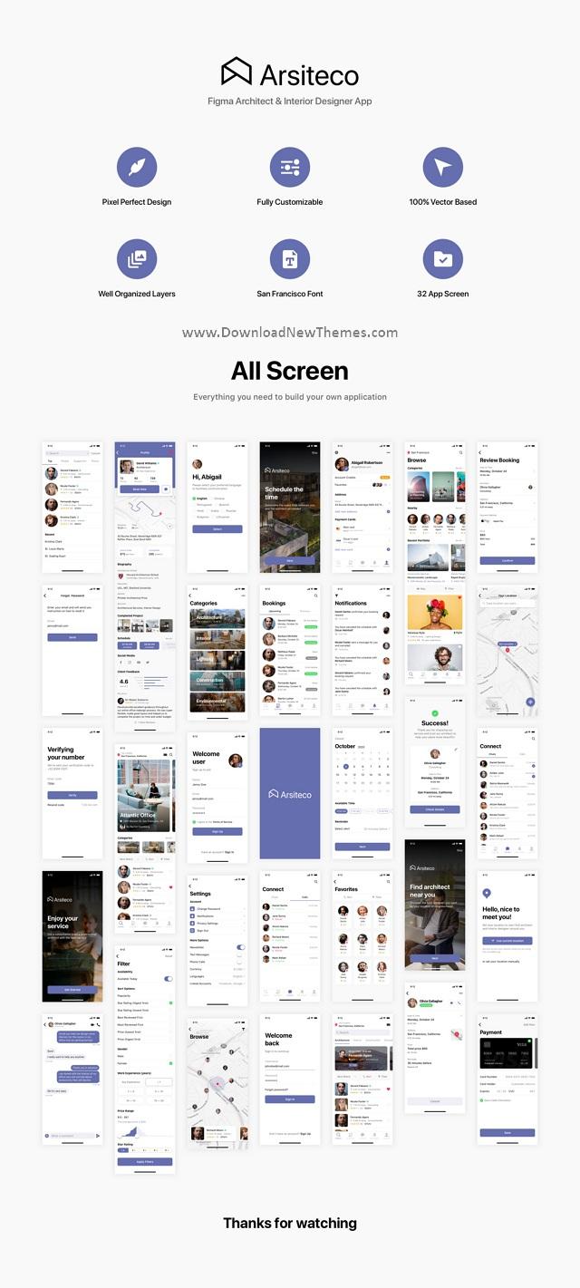 Architect & Interior Designer App
