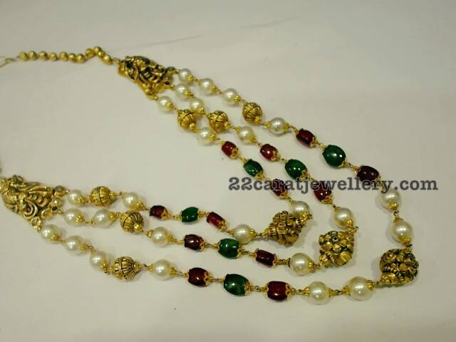 Multi Layers Grand Ruby Beads Sets