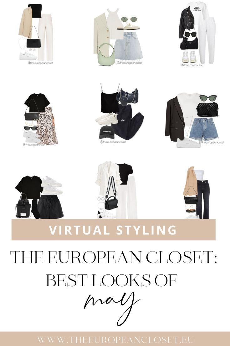 "Just like in April, I'm making this post to gather the top 10 most successful posts of May. If you see any clothing items that you like on one of these posts, you can buy them through my ""Shop Virtual Styling"" page."