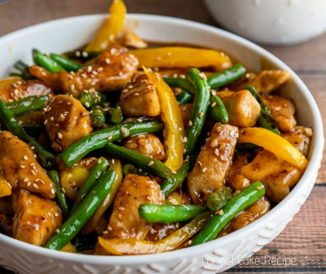 Honey Sesame Chicken Stir Fry