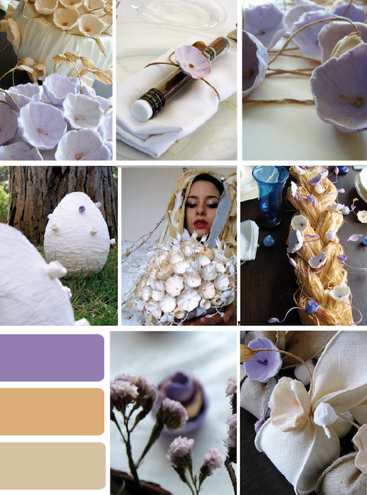 Matrimonio In Viola : Eco wedding design palette colori il matrimonio in