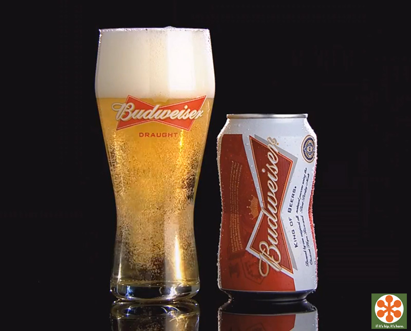 Budweiser Bow-Tie Shaped Cans