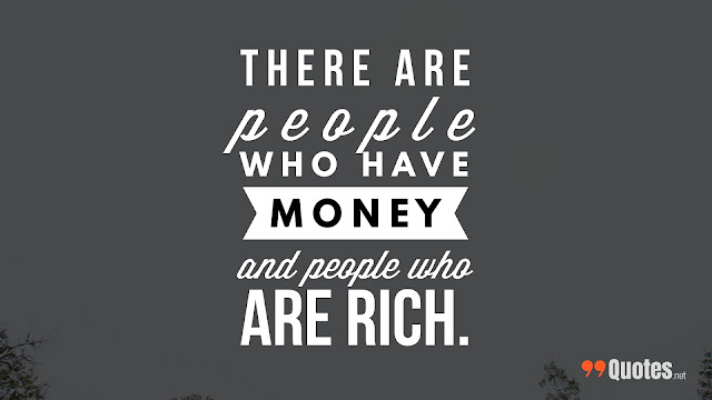 poor vs rich quote