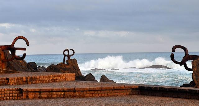 El Peine de los Vientos de Chillida en San Sebastián