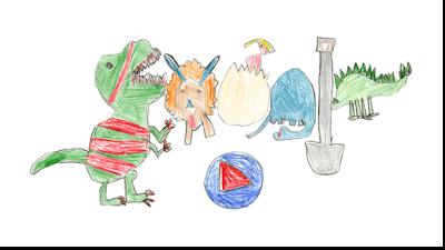 La historia de la niña que ganó 30 mil dólares por un Doodle hecho a mano