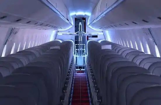 Robots on Swiss planes will kill germs
