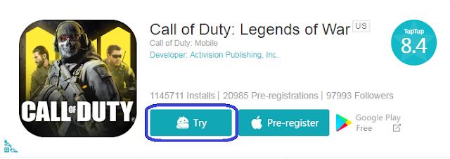 Cara Download dan Install Call Of Duty di Android