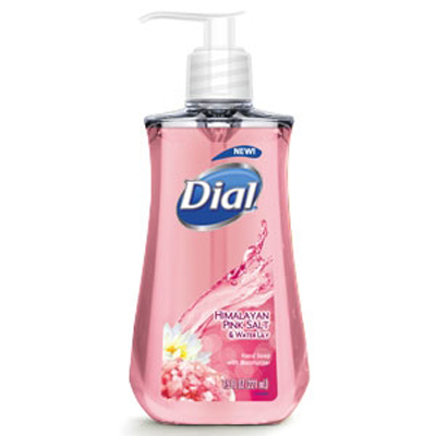 bottle of Dial hand soap