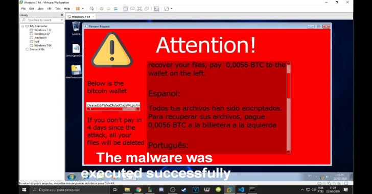 DeathRansom : A Ransomware To Bypass Technics For Educational Purposes
