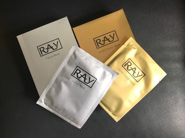 >>泰好用補濕美白面膜*泰國 妝蕾 RAY 金、銀蠶絲面膜