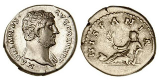 Resultat d'imatges de moneda trajà matrona