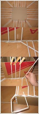 Gazete Kağıdından Sepet Örme Yapımı, Resimli Açıklamalı 2
