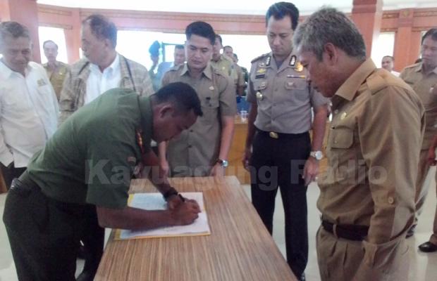 Bupati OKI Bersama Perusahaan Perkebunan dan HTI Capai Fakta Integritas