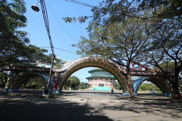 gerbang pagoda tian ti