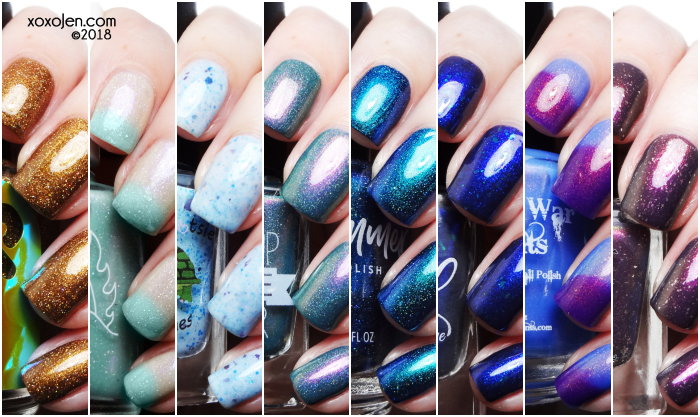 xoxoJen's swatch of November Polish Pick Up: Badass Women