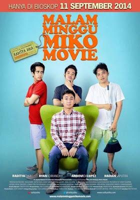 Poster Film Malam Minggu Miko Movie