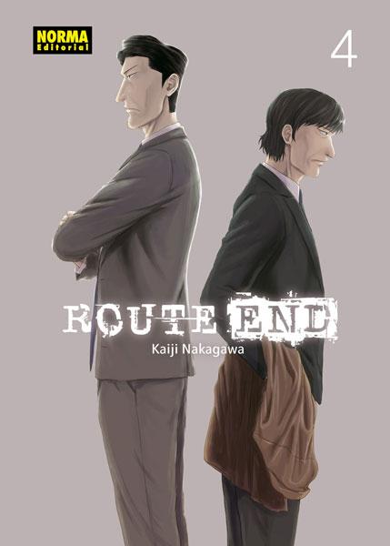 Reseña de Route End núm 4 de Kaiji Nakagawa - Norma Editorial